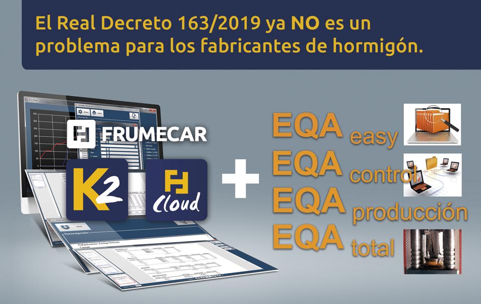 Cumplimiento del Real decreto 163/2019 ahora más fácil que nunca con software K2 de Frumecar.